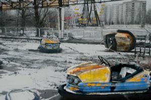 Pripiat Çernobil Arabalar