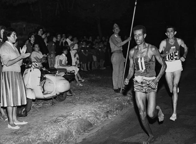 Çıplak Ayaklı Koşucu Abebe Bikila